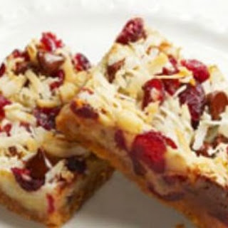 Chewy Cranberry Nut Bars