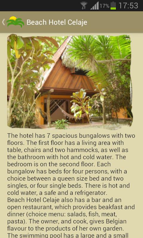 Holland Hotels Costa Rica Screenshot