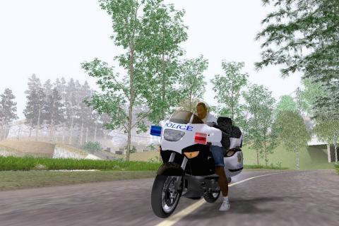 Police Moto Game