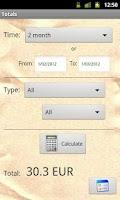 Screenshot of Check Money