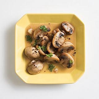 Buttery Mirin Mushrooms.