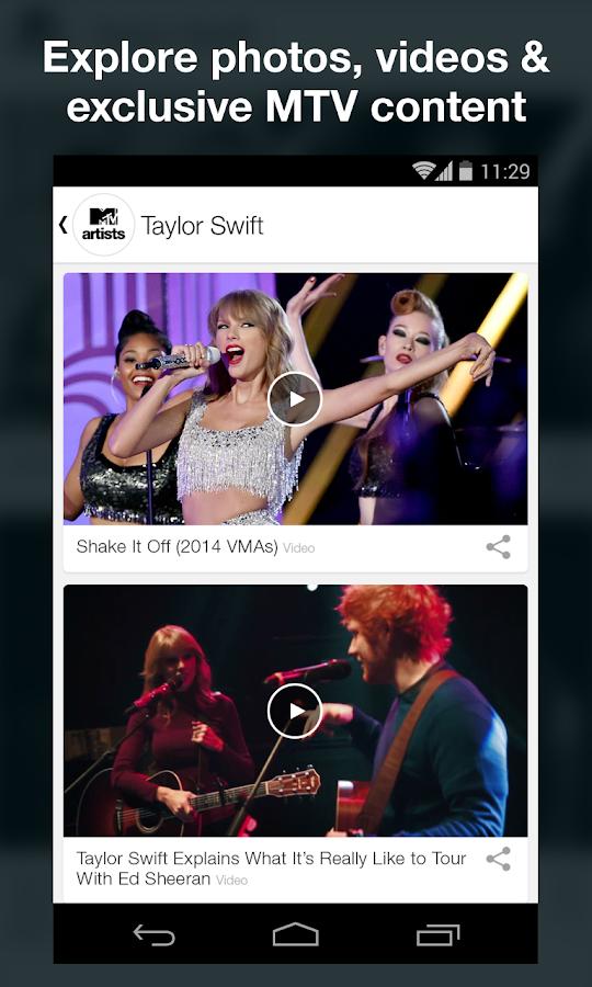 MTV Artists- screenshot