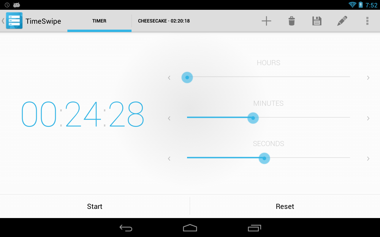 TimeSwipe - Timer - screenshot