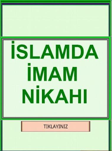 İslam da İmam Dini Nikahı