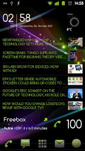 Scrollable News Widget- screenshot thumbnail