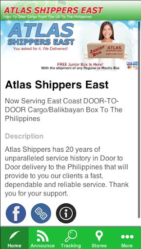 Atlas Shippers East