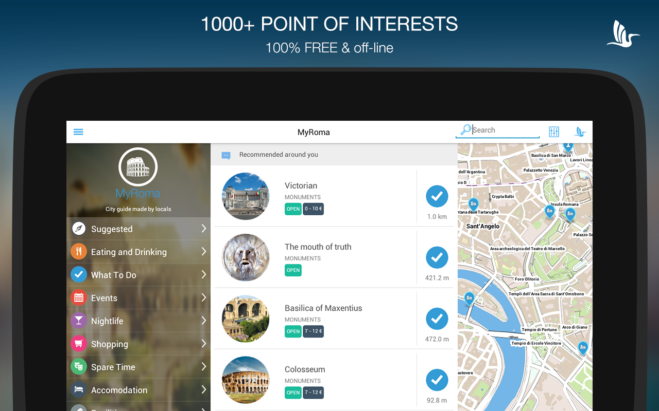 Roma App - Rome Travel Guide - Android Apps on Google Play