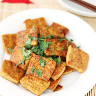 Pan Fried tofu.