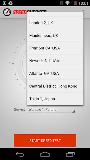 Internet Speed Test 4G, 3G, LTE, Wifi, GPRS  screenshots 3