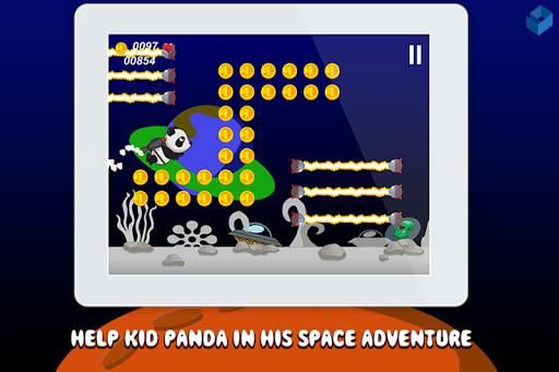 Kid Panda Jetpack: Space Adv.
