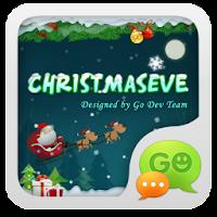 GO SMS Pro ChristmasEveThemeEX
