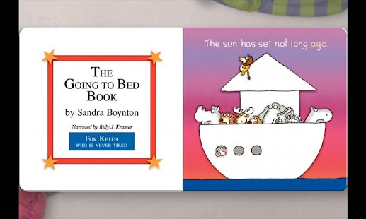 The Going to Bed Book-Boynton - screenshot thumbnail