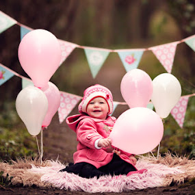 Happy 1st Birthday Mathilda by Claire Conybeare - Chinchilla Photography - Babies & Children Toddlers