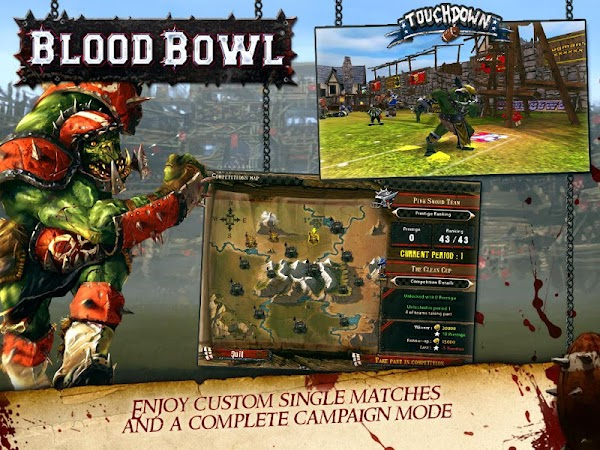 Blood Bowl- screenshot thumbnail