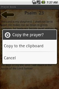 Prayer Book - screenshot thumbnail
