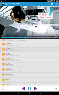 Music Folder Player (original) - screenshot thumbnail