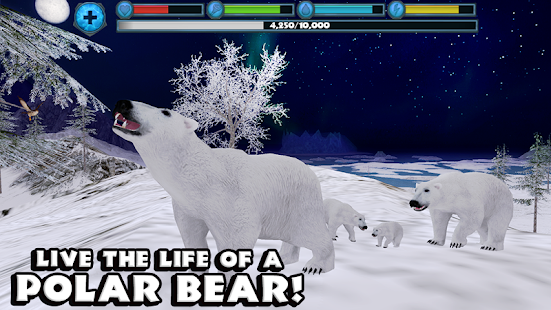 Polar Bear Simulator- screenshot thumbnail