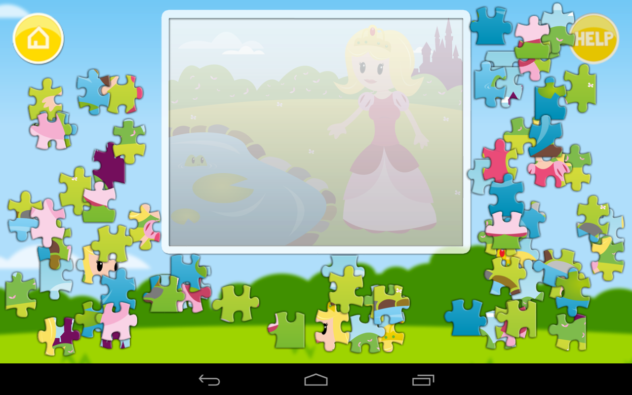 jigsaw puzzles for children screenshot - Pictures For Children