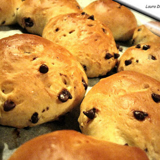 Sweet Rolls with Chocolate Chips.