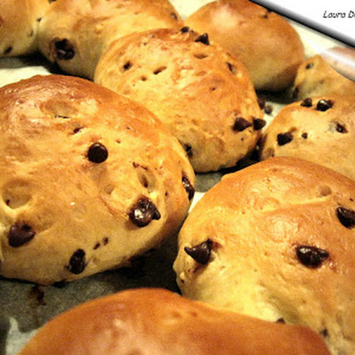 Sweet Rolls with Chocolate Chips