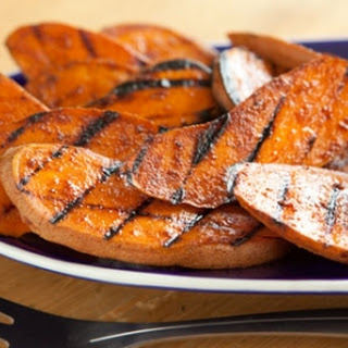 Spiced Grilled Sweet Potatoes.