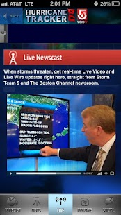 Hurricane Tracker WCVB Boston- screenshot thumbnail