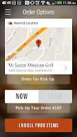 Screenshot of Mi Sazon Mexican Grill
