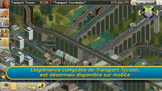 Transport Tycoon Capture d'écran