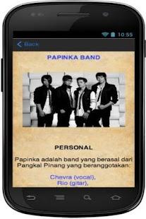 LIRIK LAGU PAPINKA BAND APK for Bluestacks | Download Android APK GAMES & APPS for BlueStacks