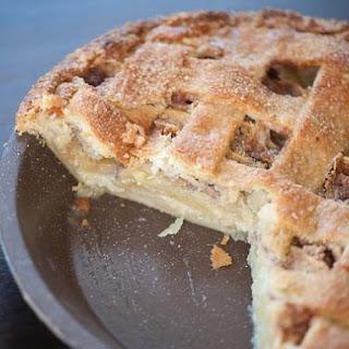 Apple Crème Fraîche Pie