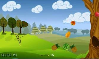 Screenshot of Fruit Archery