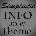 Simplistic Info (UCCW skin) icon