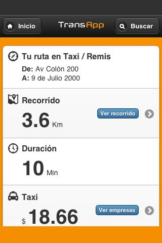 TransApp - Córdoba - screenshot