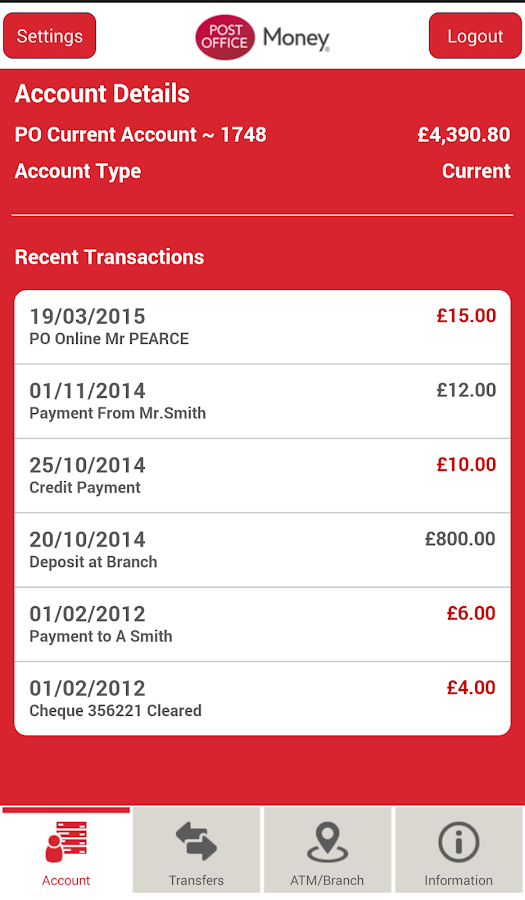 Post office current account android apps on google play - Can you cash cheques at the post office ...