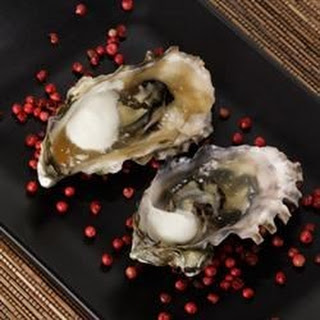 Grilled Oyster Shooters