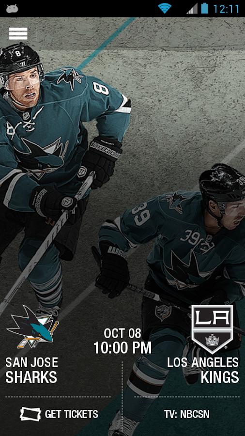 San Jose Sharks Official App- screenshot