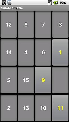 Fun maze game of number - free