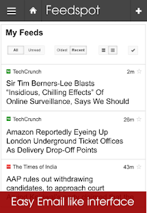 Feedspot News Reader. RSS- screenshot thumbnail