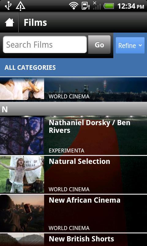 BFI London Film Festival 2011 - screenshot