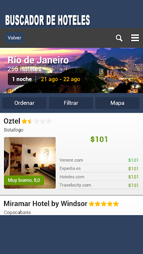 Buscador de Hoteles