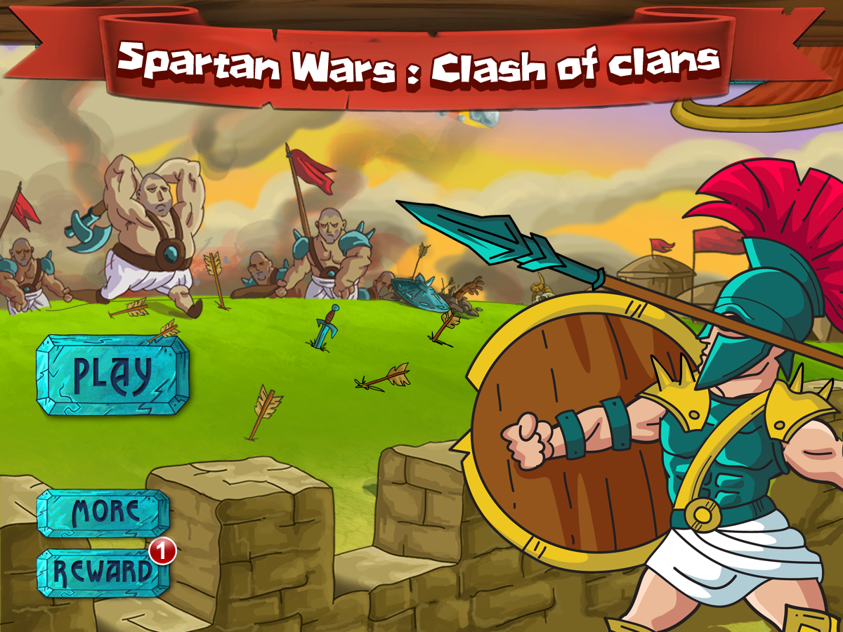 Spartan Warrior Defense - screenshot