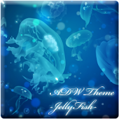 ADW Theme -Jelly Fish-