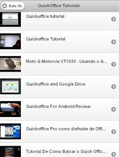 Quickoffice tutorial free for (android) free download on mobomarket.
