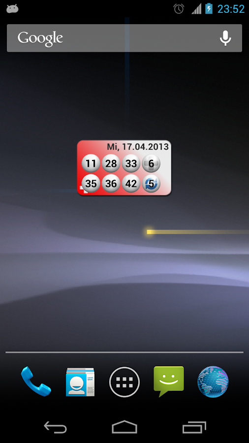 Lotto Statistik Schweiz - screenshot