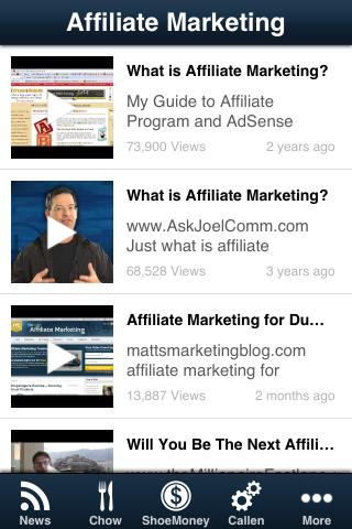 Affiliate Marketing- screenshot
