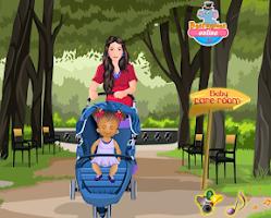 Screenshot of Baby Daisy Diaper Change Game