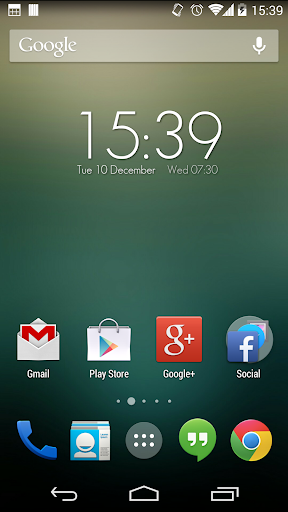 Zooper Widget Elegant HD Clock