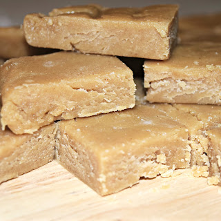 4 Ingredient Peanut Butter Fudge!  Recipe