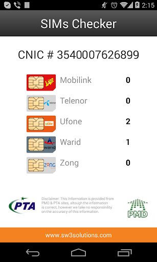 【免費通訊App】SIMs Checker-APP點子