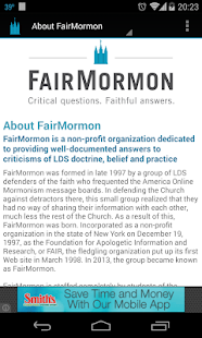 FairMormon- screenshot thumbnail